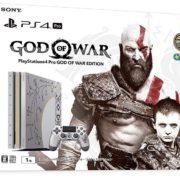 『PlayStation (R) 4 Pro ゴッド・オブ・ウォー リミテッドエディション』の予約がAmazonで開始!